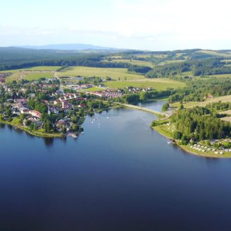 Camping Resort Frymburk - luchtfoto