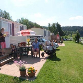 Camping Resort Frymburk - stacaravans