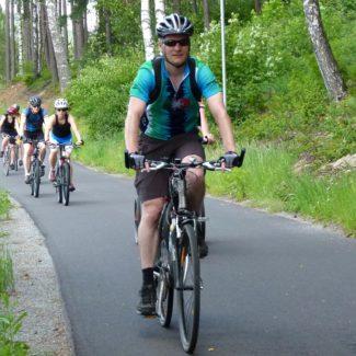 Camping Resort Frymburk - fietspad