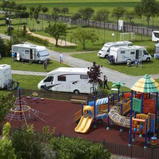 Camping Oase Praha - campingplaatsen
